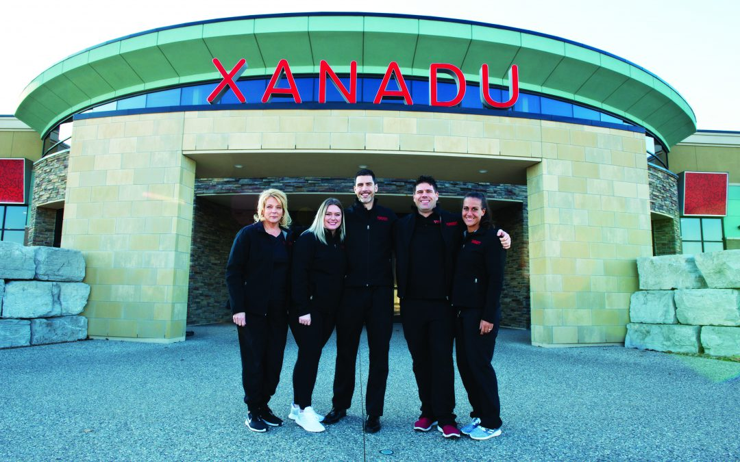 NEW YEAR, NEW GYM: XANADU FITNESS